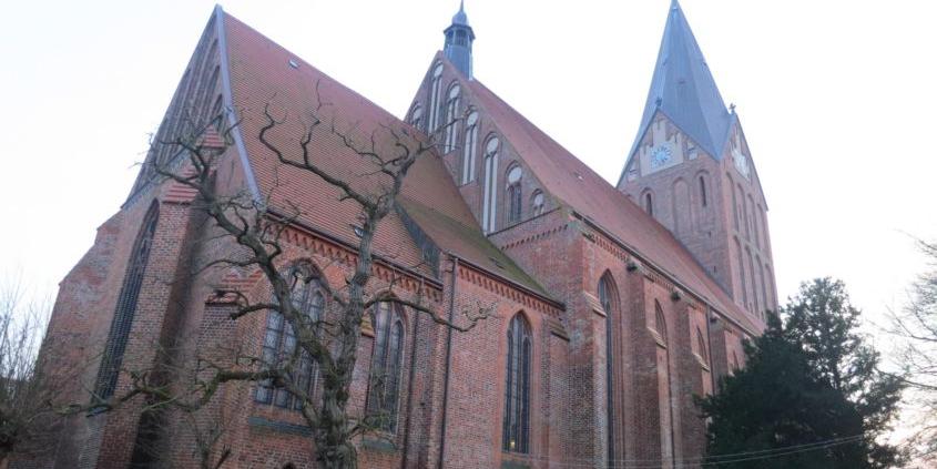 Gebäude St. Marien in Barth